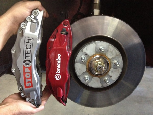 Muellerized RS -                                               Stoptech Trophy Front                                               Brake Caliper - ST-60 Six                                               Piston