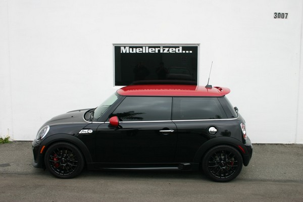 R56 Mini Cooper after                                               Ohlins Road & Track                                               install
