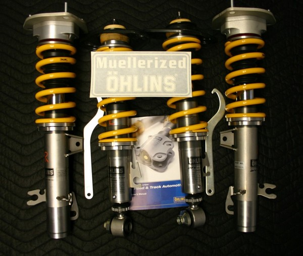 Muellerized Ohlins                                               Road & Track for R56                                               Mini Cooper