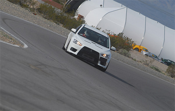 Muellerized... Evo X                                               Stage 2+ customer gripping                                               it up in Pahrump, NV