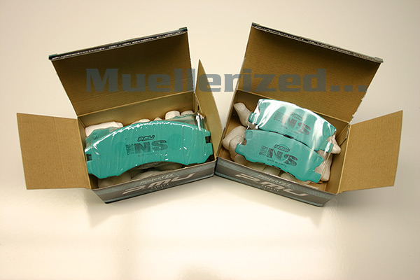 Project Mu NS Street                                               Brake Pads - 09+ Lancer                                               Ralliart