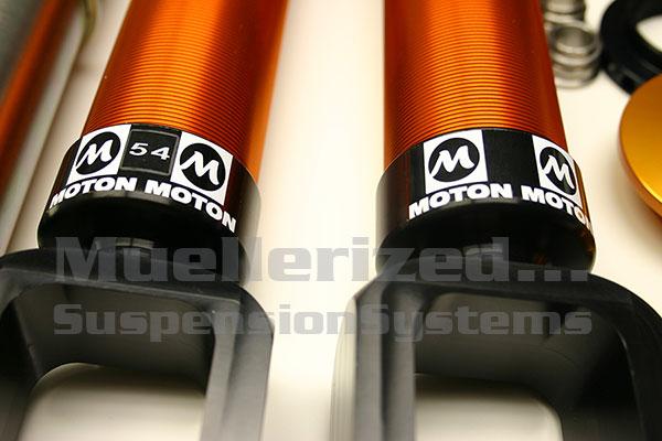 Muellerized Moton                                               Street Sport Coilovers -                                               Porsche 997