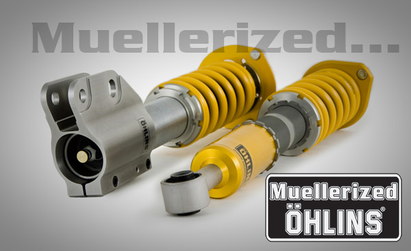 Muellerized                                                       Ohlins Road &                                                       Track Coilover                                                       Suspension - Evo                                                       8/9