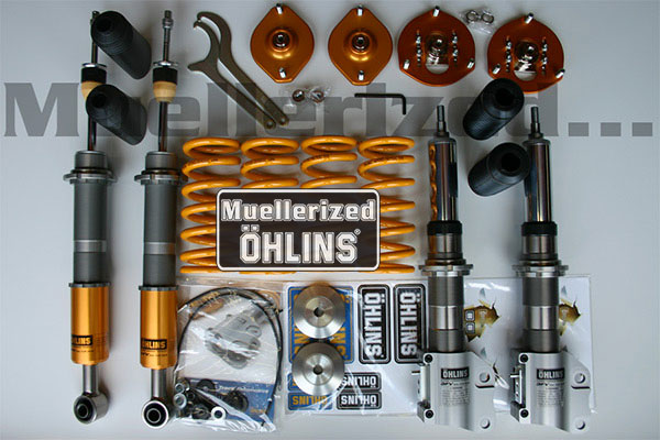 Muellerized Ohlins                                               Road & Track Coilover                                               Suspension - Evo X